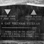La tumba de un soldado gay
