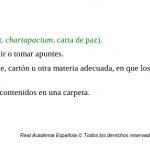 ¿Por qué El Cartapacio se llama así?