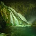 El único río de Europa que desemboca en cascada