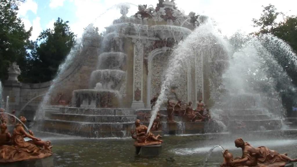 Fuente de los Baños de Diana - Palacio de La Granja