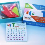 Pentominoes y Tangram T, de Toys of Wood
