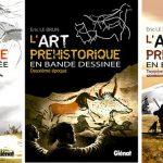 El arte prehistórico en cómic, de Éric Le Brun