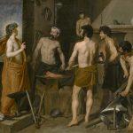 La fragua de Vulcano, de Velázquez