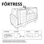 Instrucciones de Ikea para construir tu castillo. O tu fuerte. O tu tienda india.
