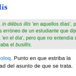 El origen de la palabra busilis
