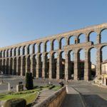 El acueducto, en Segovia