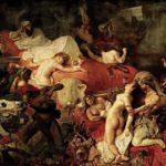 La muerte de Sardanápalo, de Delacroix