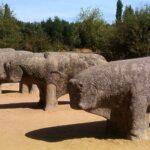 Los toros de Guisando (en El Tiemblo, Ávila)