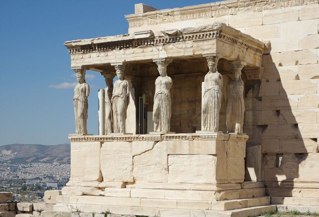 Templo Erecteion y sus Cariátides