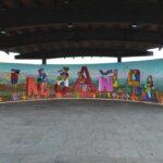 Carta abierta al autor de las pintadas del mural del palco de la música de Moaña